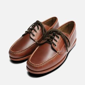 G. H. Bass and Co Brown Pull Up Boat Shoes